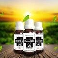 Promoción de navidad 3 botellas de Aceite Barba Barba Licencia Acondicionador Orgánico Natural Styling Efecto Hidratante para caballeros
