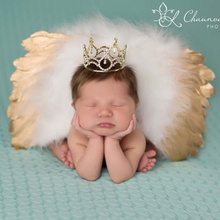 цены Baby Photography Props Baby Girls Fitted Wing Angel Wings Set Feather Infant Costume Photo Props with Headband 0-6M 2019