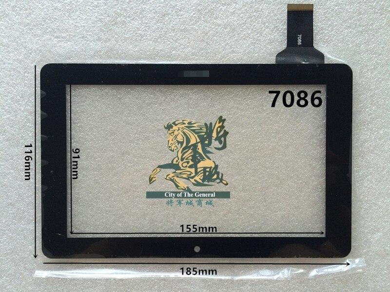 GENCTY For 7 inch 7086 W-B