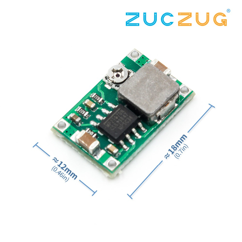 Mini360 Mini-360 DC-DC HM Buck Converter Step Down Power Supply Module 4.75-23V To 1-17V 340KHz Ultra-small