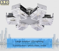 Led Building Mine Lighting Factory Explosion-Proof Lamp High Power 300W Flood Light Energy-Saving Ceiling Lamp Security 200W/90W