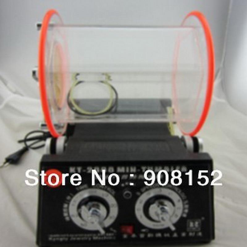 Grand-taille 28*22*29 (CM) Rotary Tumbler Machine À Polir, 220 v/50 hz/60 w Multi-fonction Machine À Laver, Capacité de 5 kg, vendu par Ensemble