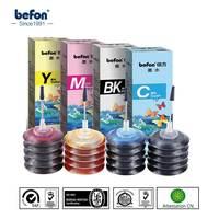 Befon X4 kolor tusz drukarski zestaw kompatybilny dla HP 21 22 301 121 140 141 178 364 Canon PG40 CL41 PGI470 CLI470 pojemnik z tuszem w Zestawy do napełniania tuszu od Komputer i biuro na