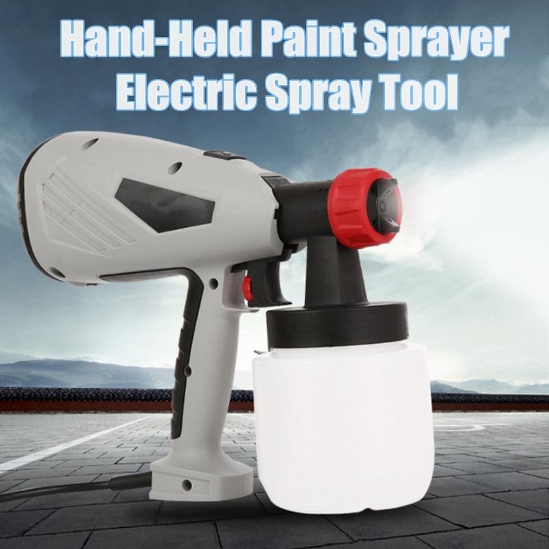 Excellent Quality DIY Home Electric Spray Guns Paint Spray Guns 220V 400W 700ml Automatic Spray Tool EU Plug For DIY Home Decor excellent shell home zsh999 page 2