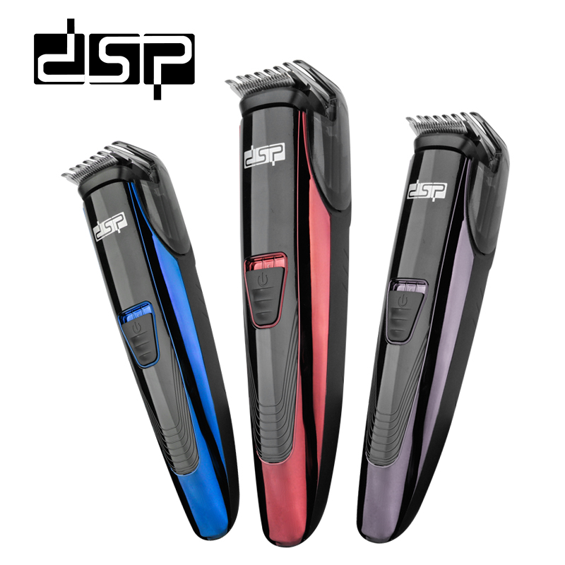 DSP Electric Washable Hair Clipper Rechargeable Hair Trimmer Shaver Razor Cordless Adjustable Clipper Free Shipping kemei9020 new razor shaver cordless adjustable clipper electric trimmer hair clipper rechargeable free shipping