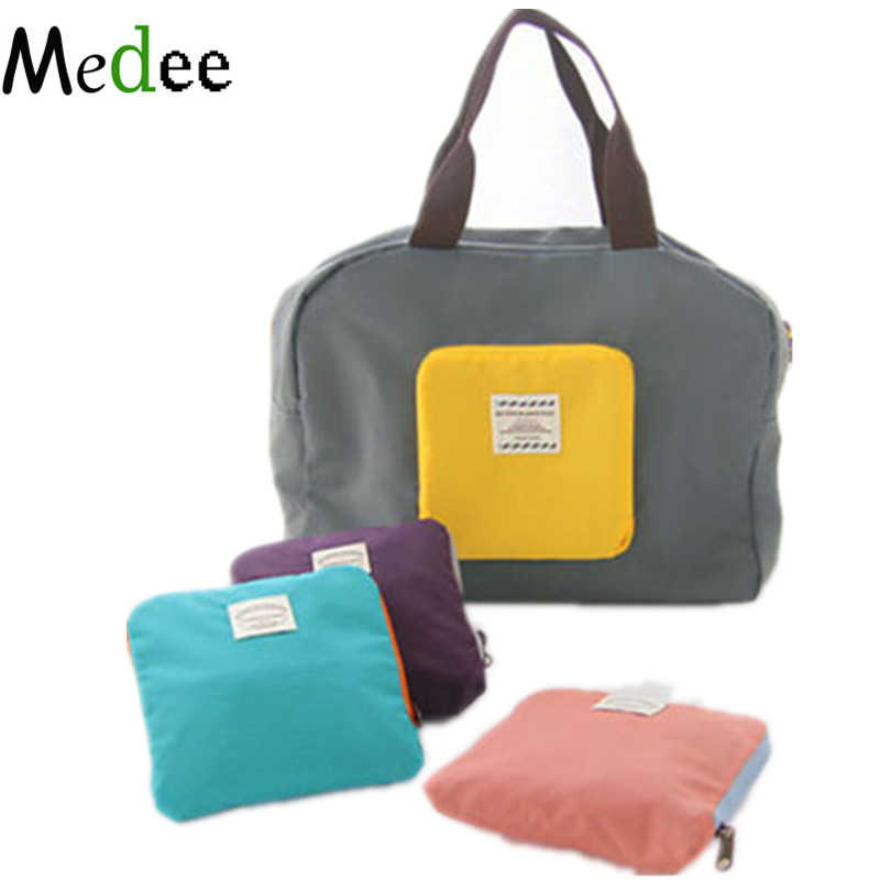 Travel Bags Packing Cubes Waterproof Foldable Shoulder Bag Men&Women To Increase Sorting ...