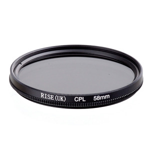 Image 1 - Rise 58 Mm Circulaire Polarisatiefilters Cpl C PL Filter Lens 58 Mm Voor Canon Nikon Sony Olympus Camera