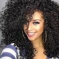 150% плотность Полный Шнурок Человеческих Волос Парики С Ребенка Волосы Бразильских Глубокая Волна Человеческих Волос Парики Для Чернокожих Женщин