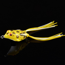 Здесь можно купить   Fishing Lure Mini Soft Rubber Frog 1Pcs 4.2cm 5.8g   Crank Baits with Hooks Isca Artificial Fishing Lures Black Fish Killer Fishing
