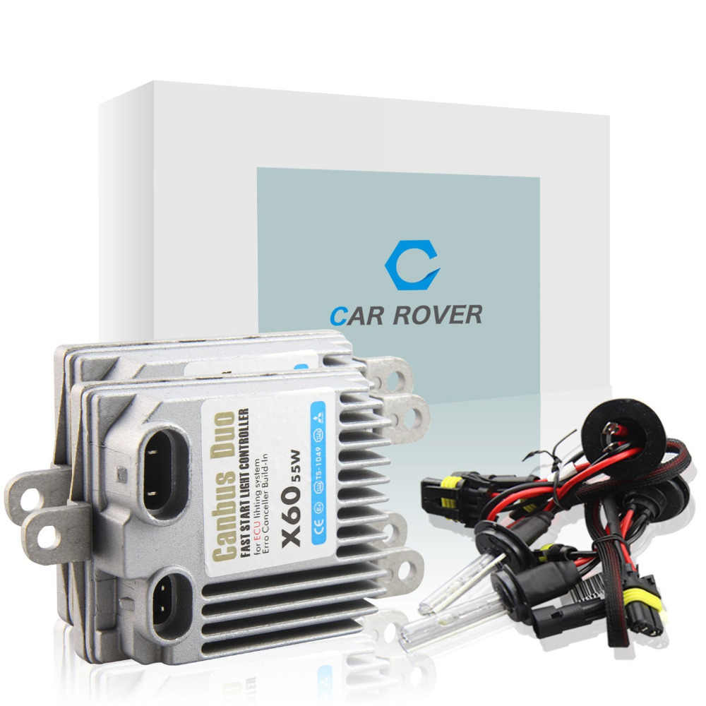 CAR ROVER HID Xenon Kit  H1 H4 H7 H11 55w Car Headlight Xenon Bulb AC 12v 4300k 5000k 6000k 8000k Canbus Error Free No Flicker
