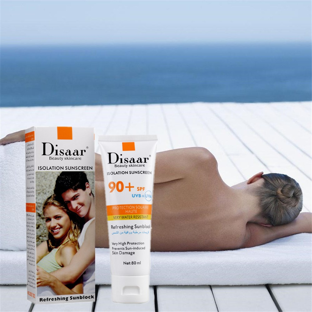 SPF90PA++ Sunscreen Concealer Moisturizing Foundation Makeup Bare Air Cushion Isolation Sunscreen
