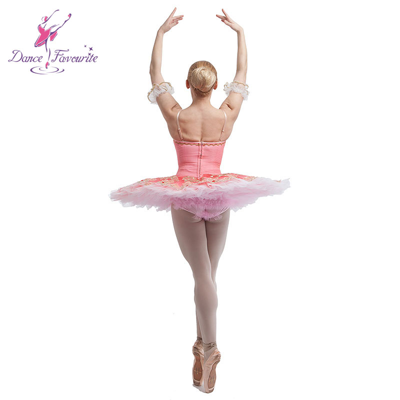 fantastic hot pink professional ballet tutu girl stage performance ballerina dance costume tutu lady competition ballet tutu
