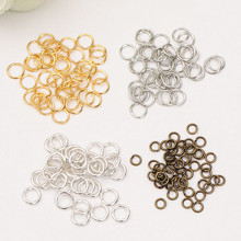 200 pcs 0.7*5mm Bronze/sliver/gold Jump Rings & Split Rings Jewelry Finding Fit Earring/Necklace/Bracelet Making(China)