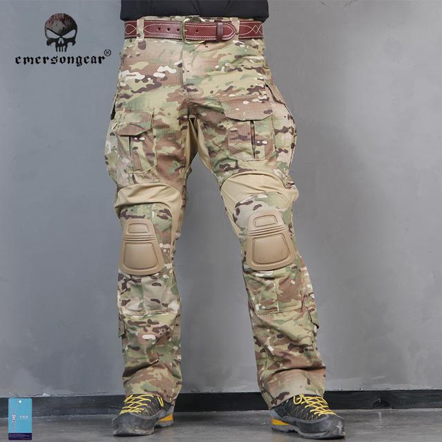 Emersongear G3 Uniform Combat Shirt Pants Military Airsoft Uniform Tactical Paintball Hunting clothes Emerson BDU Multicam