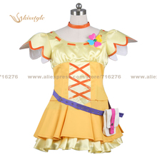 Kisstyle Fashion Fresh Pretty Cure! Inori Yamabuki Uniform COS Clothing Cosplay Costume,Customized Accepted(China)