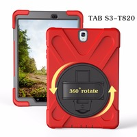 9.7 inch Tablet Case For Samsung Galaxy Tab a 9.7 S3 T820 Silicone With Bracket