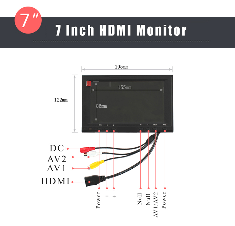 32,8ft поворотная головка 10 kilo камера стрела крана рычаг джибса видео 7 дюймов HDMI монитор комплект