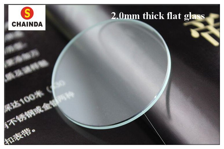 Free Shipping 135 PCs 18~40mm Size Watch Crystal Flat Round Mineral Glass Crystal 2.0mm Thick