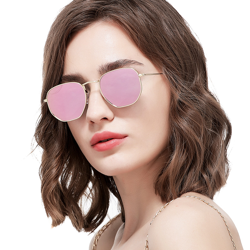 Buy 2019 Fashion HD061 polarized sunglasses large lens driving glasses travel sun glasses Cycling glasses with glasses case for only 17.92 USD