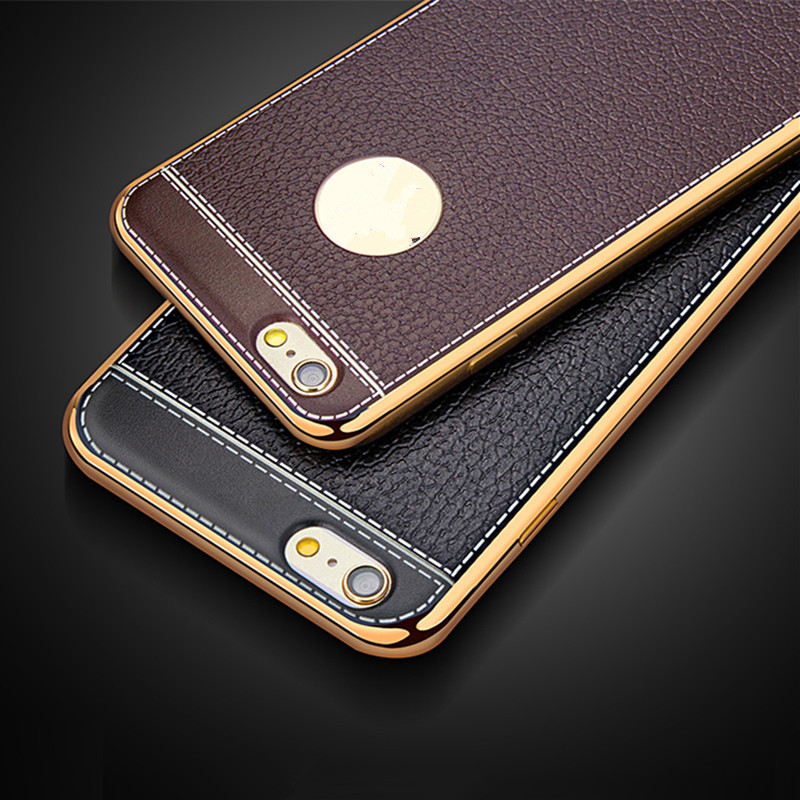 Luxury-Leather-Pattern-Soft-Silicone-Case-For-iPhone-5-5S-SE-6-6s-4-7-Plus_