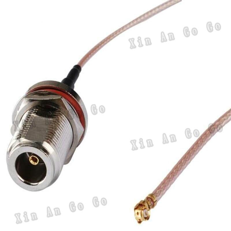En gros 10 pcs RF connecteur N femelle à UFL IPEX RG178 de Tresse Câble 30 CM expédition rapide