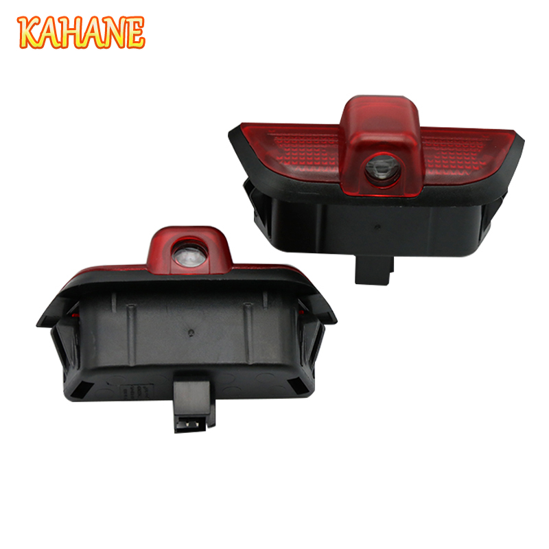 KAHANE 2x LED Car Door Light Projector Courtesy Laser Light Ghost Shadow Light FOR <font><b>Mercedes</b></font> <font><b>Benz</b></font> W204 C230 C260 C280 <font><b>C300</b></font> image