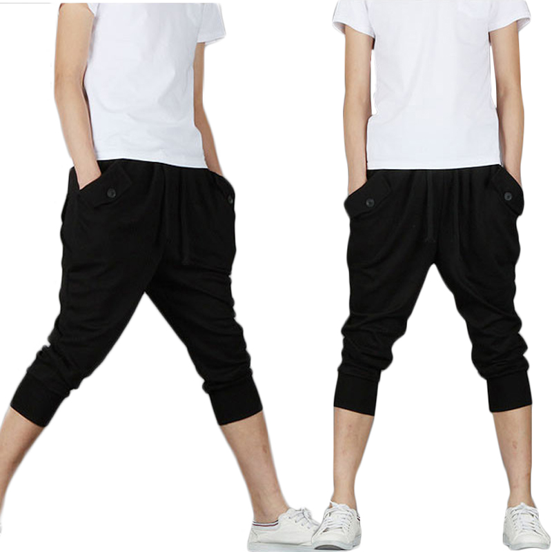daa3efed33a New summer pants male feet Harlan camouflage Loose pants men Korean ...