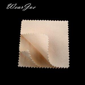 Image 3 - Paño de microfibra para limpieza de joyas, tela de microfibra antideslustre, con logotipo a medida, disponible en 12 colores, plateado y dorado, 500