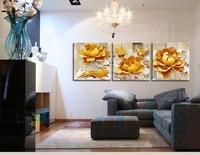 Olieverf Wall Art Diy Art Moderne Gold Vogel Definition Foto Canvas Schilderij Home Decor Woonkamer Muur Print (geen Frame)