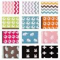 Double Layer Cotton Knitted Baby Blanket Super Soft Sleep Blanket for Stroller Infant Crib Sofa Pram Cot Bedding Swaddle 76*102