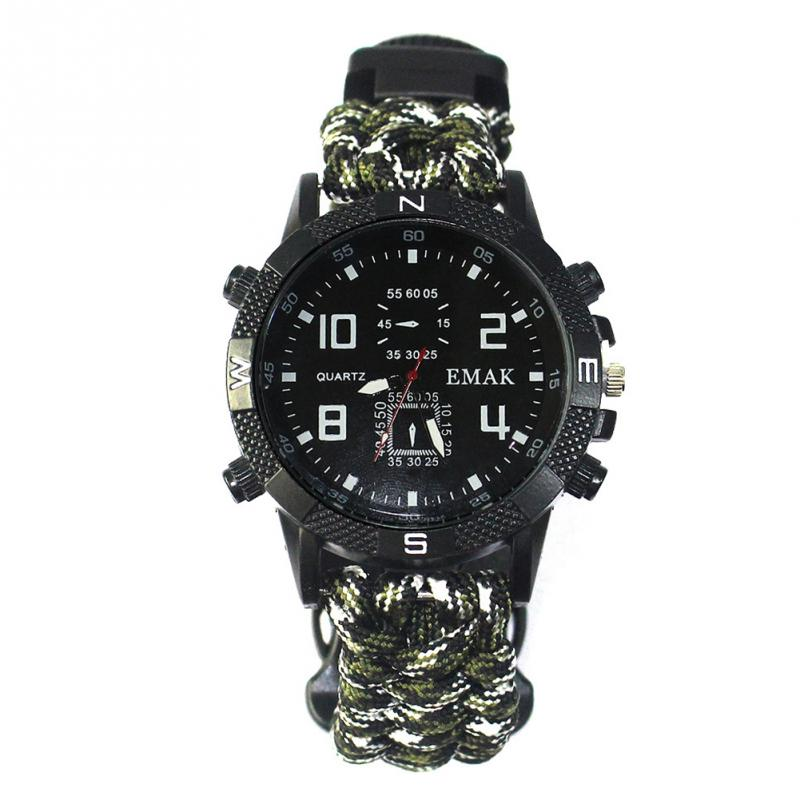aeProduct.getSubject()  EDC Tactical multi Outside Tenting survival bracelet watch compass Rescue Rope paracord gear Instruments package HTB1yDQGFuGSBuNjSspbxh7iipXau