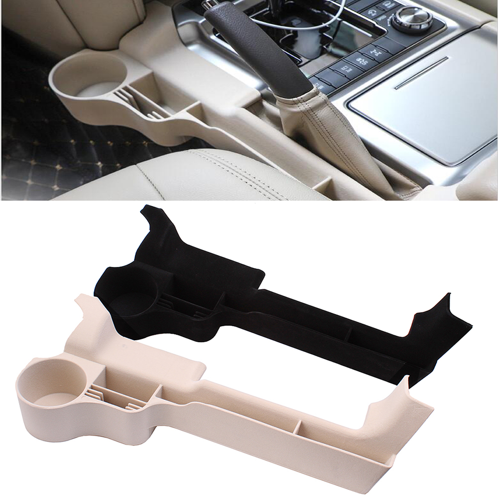 2016 2017 2018 2019 For Toyota Land Cruiser 200 Black Beige Car Interior Sear Crevie Storage Box Organizer Cup holder Brakest