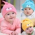 Bonito dos desenhos animados Do Bebê Chapéu Do Bebê Beanie Quente Sono Algodão Cap Criança Crianças Recém-nascidas Acessórios de Vestuário Para O Outono Inverno Presente Do Bebê