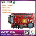 Оптовая HD-X40 Huidu ПРИВЕЛО плату контроллера HD-U64 USB + ПОСЛЕДОВАТЕЛЬНЫЙ порт 256*512 пикселей семь управления цветом карты с 50 КОНТАКТНЫЙ порт
