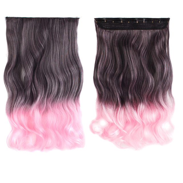 Online Shop Mapofbeauty 20 Long Curly Synthetic Hair Clip In Hair