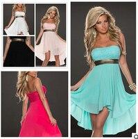 2016 الصيف النساء السيدات مثير ثوب حار مثير زلات S-XXL 5 ألوان
