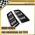 EPR Car Styling Universal RR Type Hood Vents Scoop Bonnet Air Vents Air Flow Vent Duct