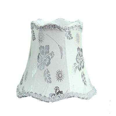 16cm silver flowers fabric small table lamp shades handmade 16cm silver flowers fabric small table lamp shades handmade chandelier shades white luxury bedroom wall lamp aloadofball Gallery