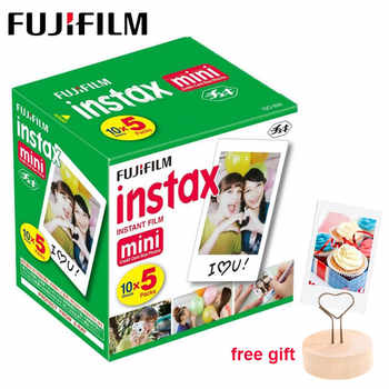 50 feuilles Fujifilm Instax Mini 11 Film papier Photo à bord blanc pour Instax Mini LiPlay 9 8 70 90 SP-2