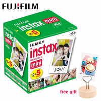 50 sheets Fujifilm Instax Mini 9 Film White Edge Photo Paper For Polaroid Camera Film Mini LiPlay 8 7s 70 90 SP-2 Instant Camera