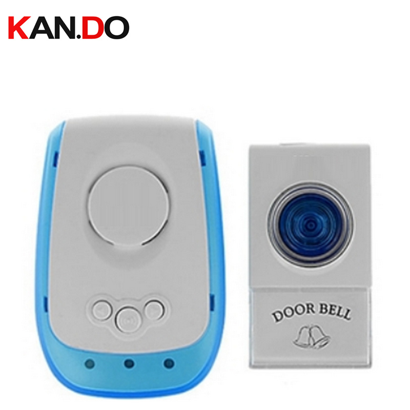 V009A door ring w/ battery 23A 12V receiver power by 220V wireless door bell doorbell chime economic ring with 1 receiver картридж hp inkjet cartridge black 51626a