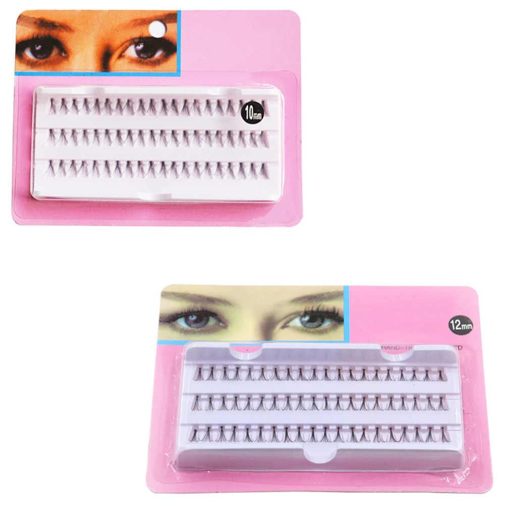Красота Поддельные ресницы для женский макияж 60 Индивидуальный Черный комплект накладных ресниц наращивание ресниц инструменты