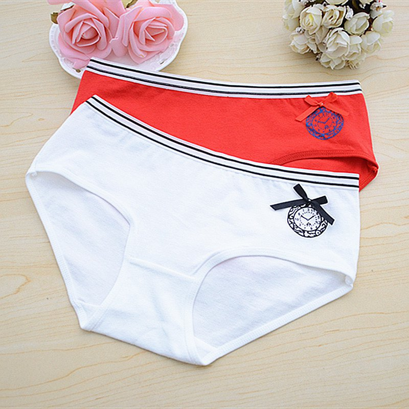 Buy 2018 New Fashion Women Sexy Thong G-String Low Waist Cotton Lace Briefs Panties Bowknot Underwear Dropshipping