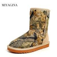 Wholesale Retail High Quality Women Australia Classic Snow Boots Genuine Sheepskin Leather Warm Winter Shoes Free