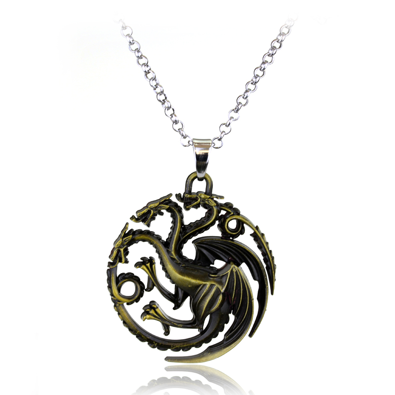 2016 New Martel Necklace Game of Thrones Necklace Song of Ice and Fire Baratheon Stark Arryn Tully Greyjoy GJ1598