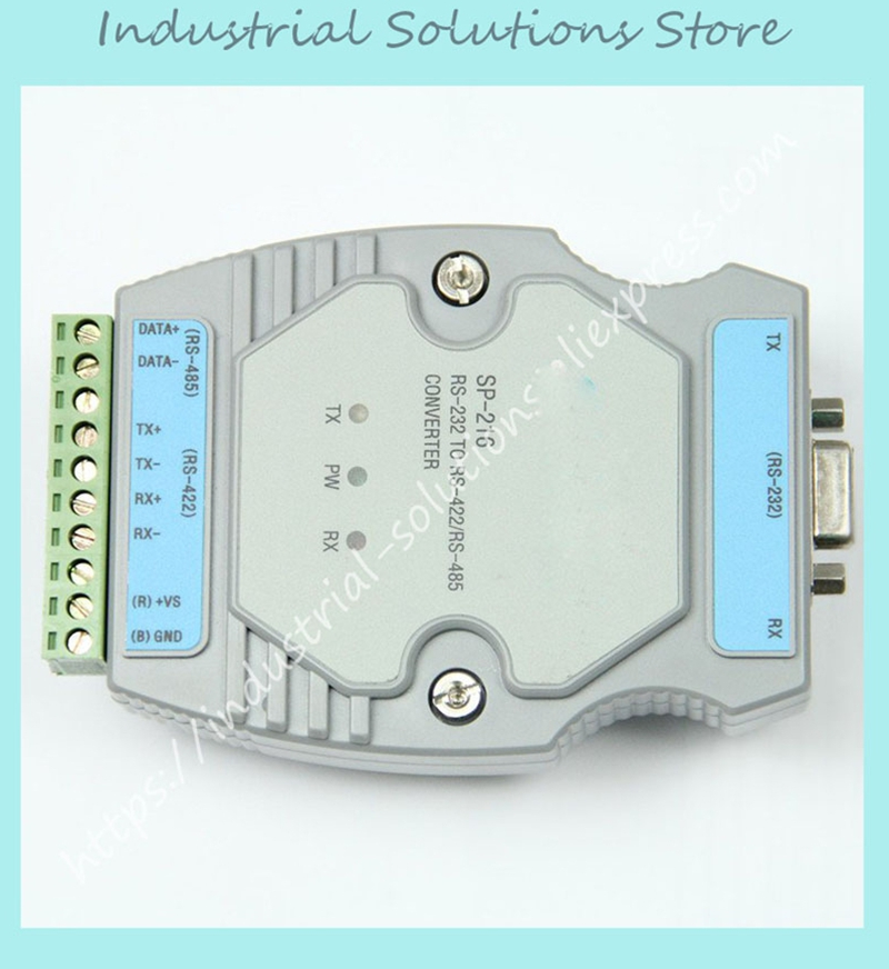 New SP-216 intelligent RS232 RS422 RS232 and RS485 interface converter compatible with UT-216 photoelectric isolation active rs485 converter rs232 interface converter lightning protection rs485 to rs232 converter