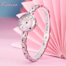 Kimio Small Dial Fashion Casual Women Watches Alloy Bracelet