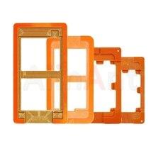 Пресс-форма для iPhone ЖК-дисплей Экран Стекло Дисплей 6 6s 7 Plus UV LOCA Клей пресс-формы для iPhone 4 4S 5 5S ремонт Запчасти