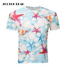 Neue Männer T-shirt Sommer 3D Print Tops Kurzarm Runde Neck Fashion 2016 Männlich Lustig Cool T-shirts Plus Größe Camisetas ZOOTOP BÄR