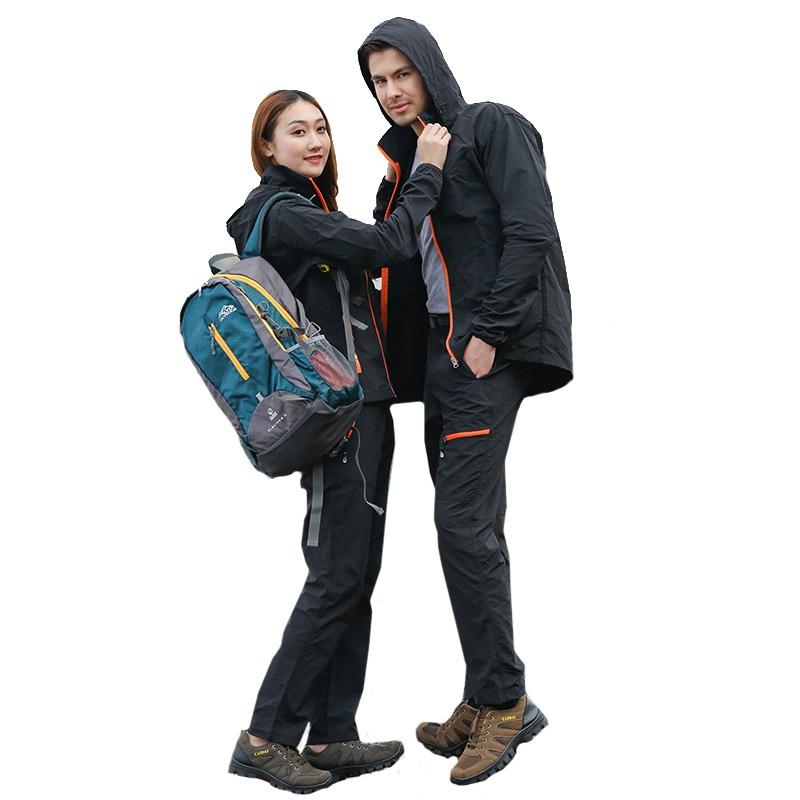 2017 New Summer Outdoor Men Women Quick Dry Breathable Jacket Pants Sports Suit Kids Trekking Clothing Hiking Hunting Sport Suit 2017 camel outdoor windproof waterproof couple jacket light breathable quick dry hooded skin clothing spring summer jacket